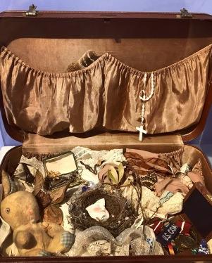 """Suitcase no.7"", Assemblage"