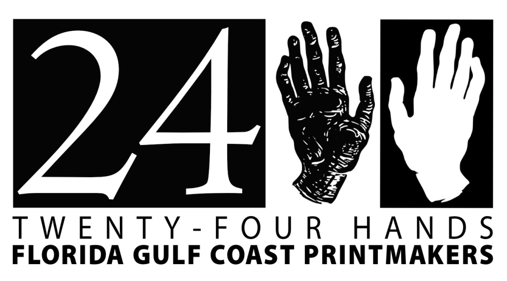 """24 Hands is a printmaking collective based on the Florida Gulf Coast. We are twelve founding artists who promote, educate and advocate for printmaking media"""
